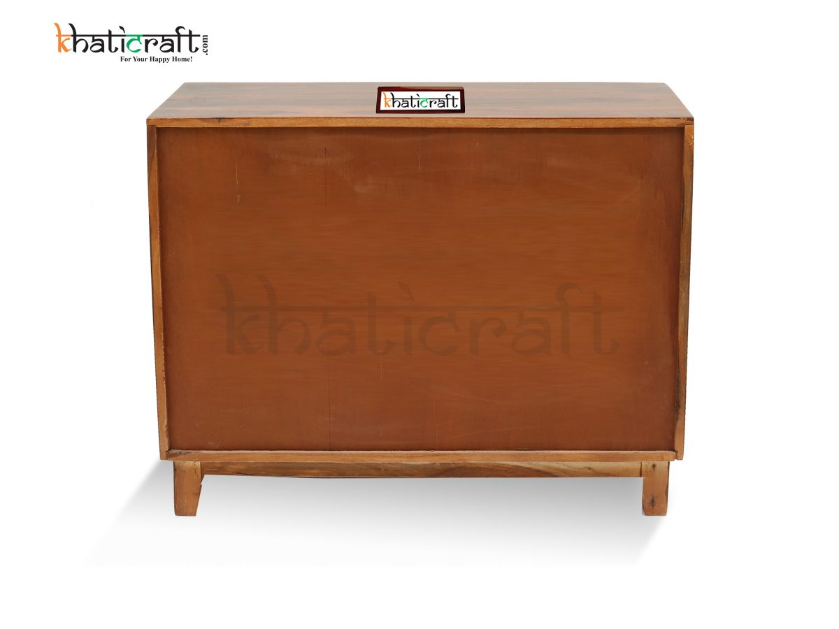 Mini Sideboard 2 Doors 4 Drawers_Khaticraft