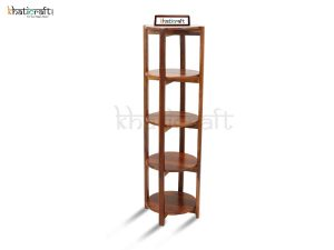 Tower Shelf with 5 Racks_Khaticraft1