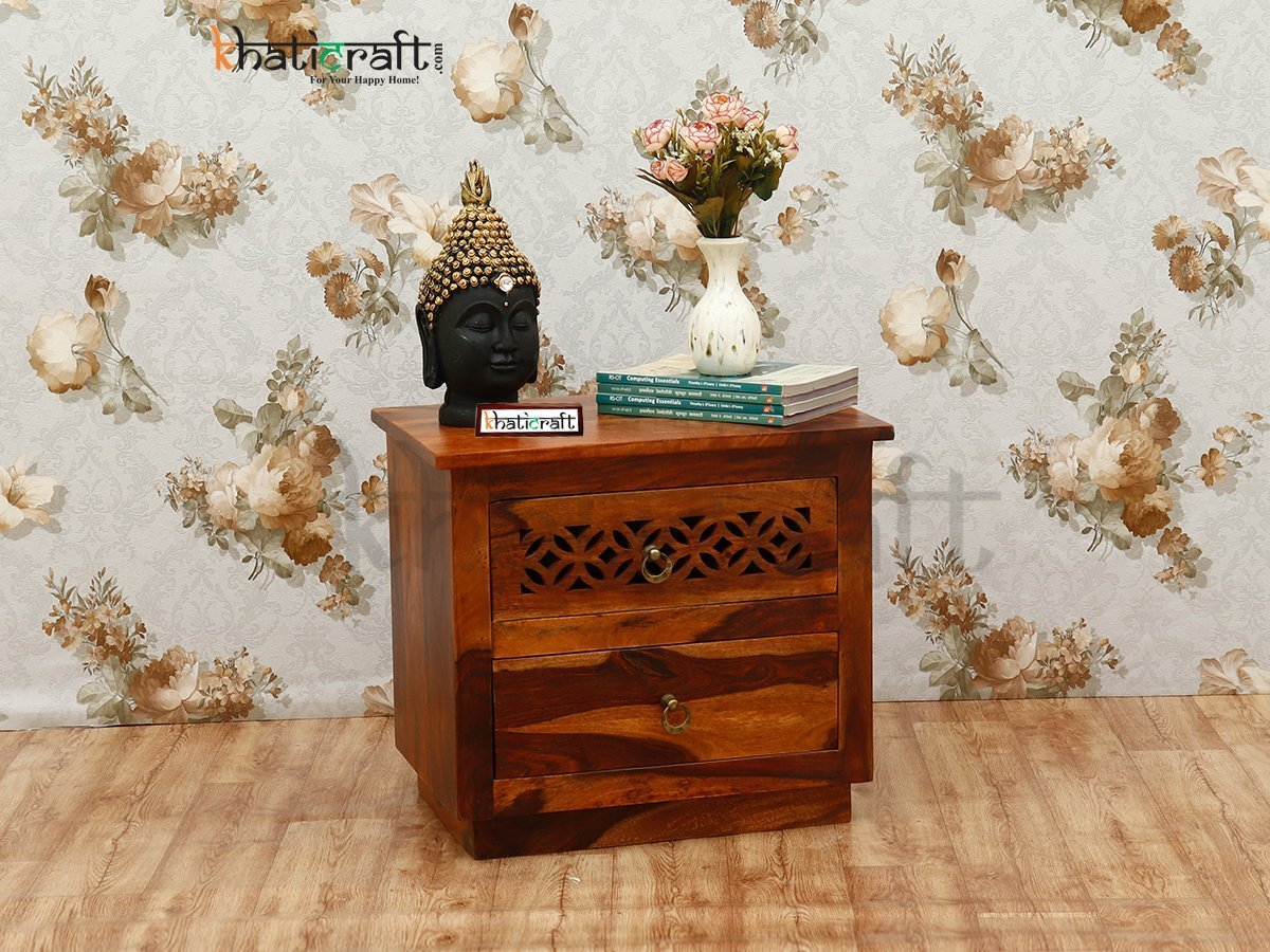 Bedside Wooden Flower_Khaticraft_5