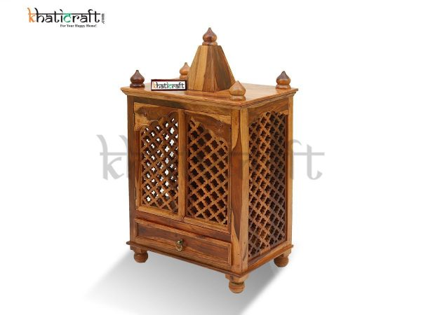 Temple Wooden Jalli Solid Wood Sheesham By Khaticraft_6
